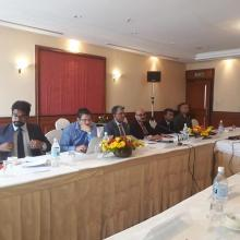 The first consultation meeting on developing Inland Waterways Connectivity between India & Nepal Kathmandu 16 jul 2018