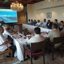 JMVP Project Review Meeting attended by 10 sep 2018