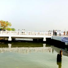 Commissioning of the RO RO LO LO Jetties at W Island and Bolghatty
