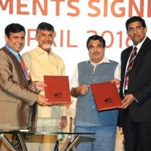 MOU signed during Maritime India Summit 2016