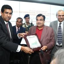 Inaugurated River Information System by Honble Minister of Shipping, Govt. of India