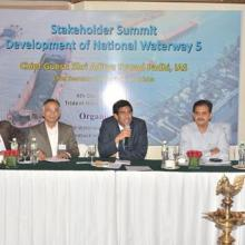 Conducted a stakeholders summit for the development of NW-5 through PPP mode at Bhubaneswar (Odisa) on 4th December 2015