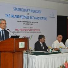 Workshops held with Stakeholders on drafting New IV Act at Delhi on 12th August 2015