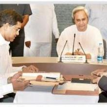 MOU Signed for the Development of National Waterways No. 5 (Odisa)