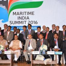 Photographs of Maritime India Summit 2016